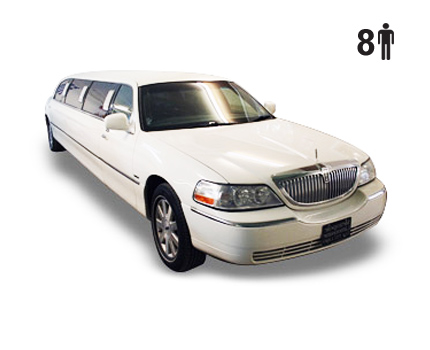 exterior of a lincoln town car